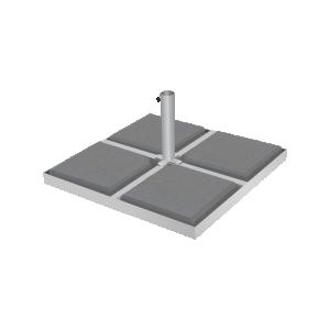 Metal base 860x860/Ø70
