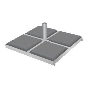 Metal base 1060x1060/Ø70