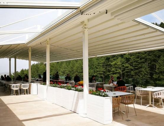Pergola tenda u novoj bašti Sunnyland Trebević